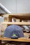 Grey Flex Fit Hat