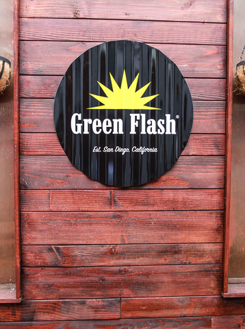 Green Flash Logo Tin Tackers