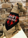 """Craft Hound"" Dog Bandana"