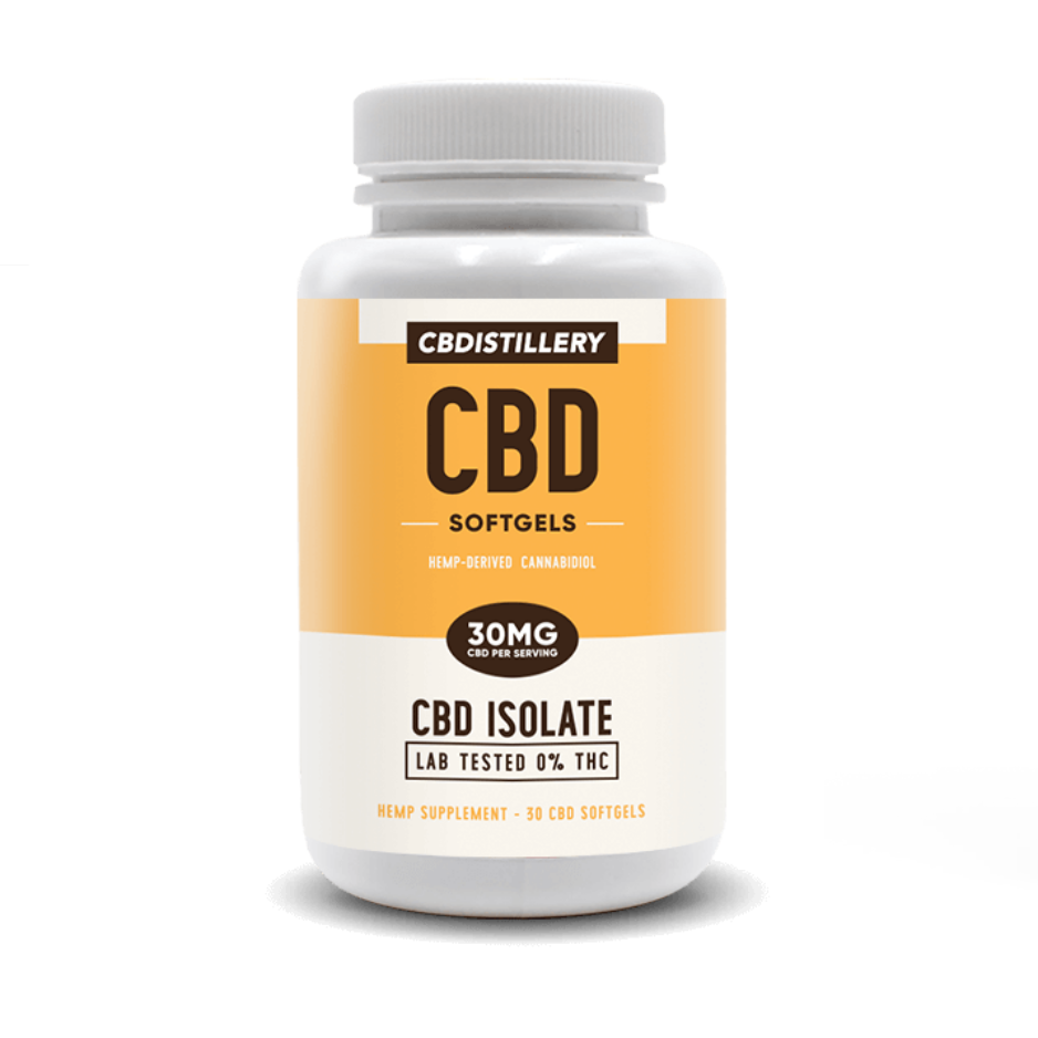 CBD Softgels - 30 x 30mg