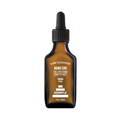 Sigma CBD Oil 300mg Full Spectrum by Hemple
