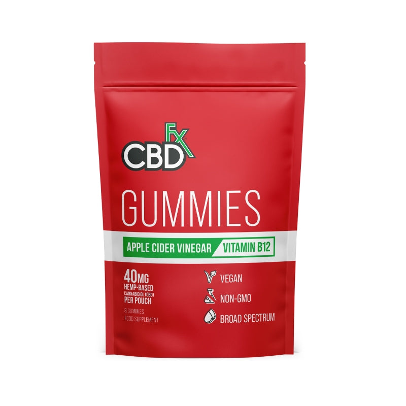 CBD Gummies - Apple Cider Vinegar and B12 - 8 x 5mg