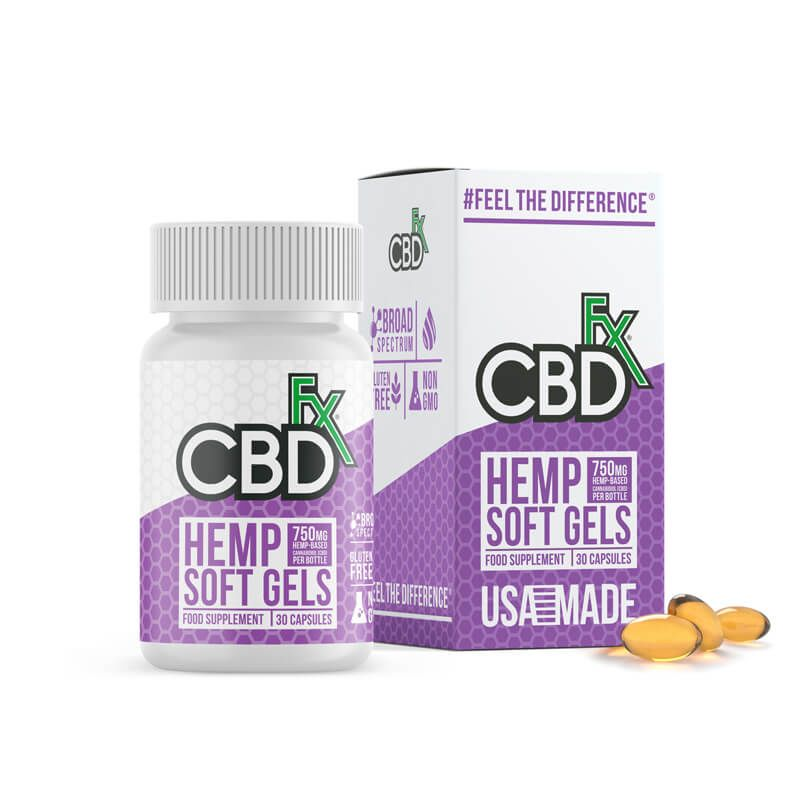 CBD Softgels - 30 x 25mg
