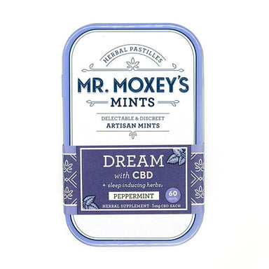 CBD Dream Herbal Mints by Mr. Moxey's