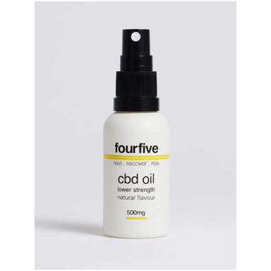 CBD Oil 500mg by fourfivecbd