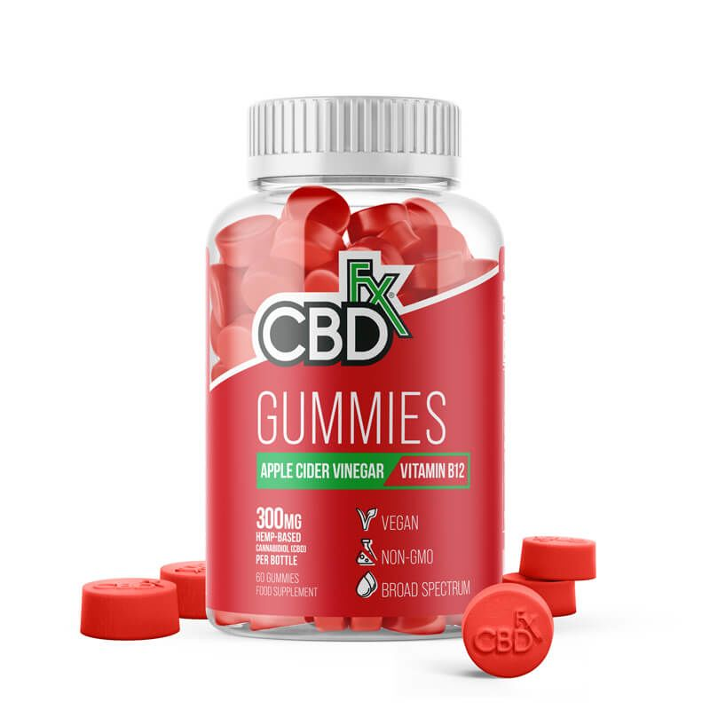 CBDfx Gummies: Apple Cider Vinegar