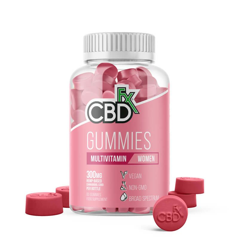 CBDfx Gummies: Women's Multivitamin