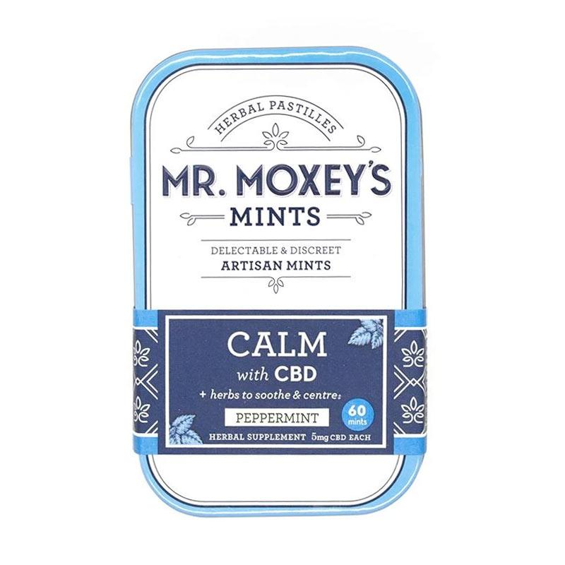 Mr Moxey's Calm Herbal CBD Mints