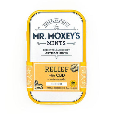 CBD Relief Herbal Mints by Mr Moxey's