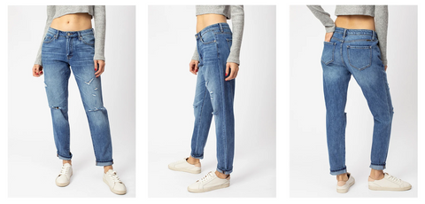 Kancan Boyfriend/Mom Jeans | Hot Mess Mama Boutique