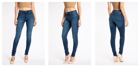 Kancan Clasic Skinny Jeans | Hot Mess Mama Boutique