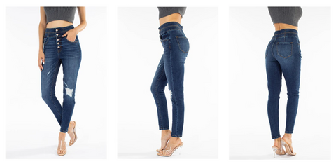 Kancan Curvy Jeans | Hot Mess Mama Boutique