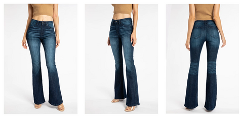 Kancan Flare Jeans | Hot Mess Mama Boutique