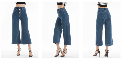 Kancan Wide Jeans | Hot Mess Mama Boutique