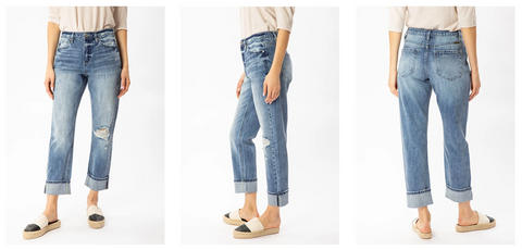 Kancan Straight Fit Jeans | Hot Mess Mama Boutique