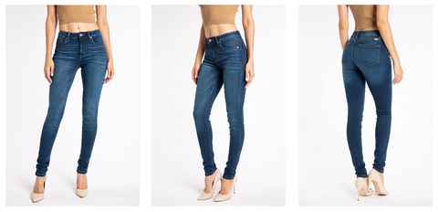 Kancan Super Skinny Jeans | Hot Mess Mama Boutique