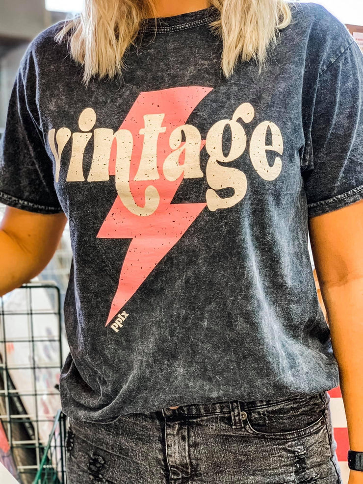 Vintage Retro Graphic Tee - Hot Mess Mama Boutique