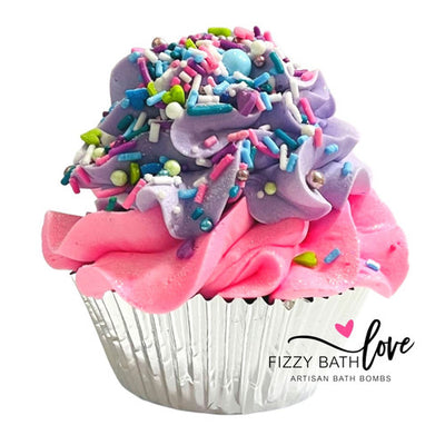 Sleep Easy Cupcake Bath Bomb