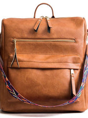 Tan Guitar Strap Backpack - Hot Mess Mama Boutique