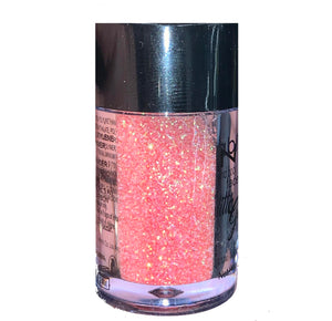 Peach Face and Body Glitter