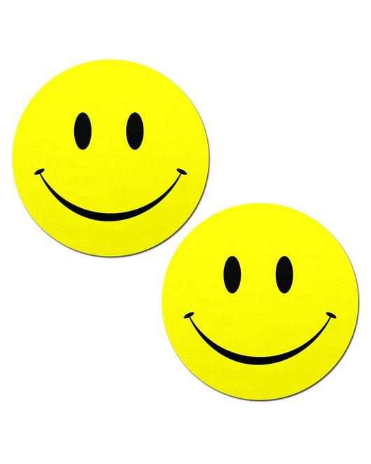 Smiley Faces: Bright Yellow
