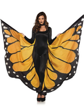 Load image into Gallery viewer, Festival Butterfly Wings Orange Black