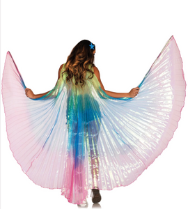 360 Degree Pleated Isis Wings