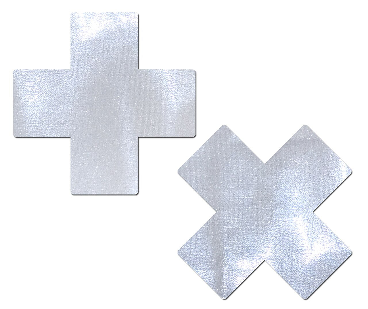 Plus X: Liquid White Cross