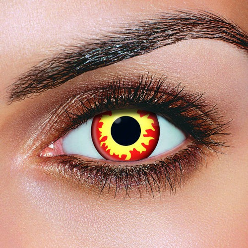 Kz Premium Color Lenses (Flame wild fire)