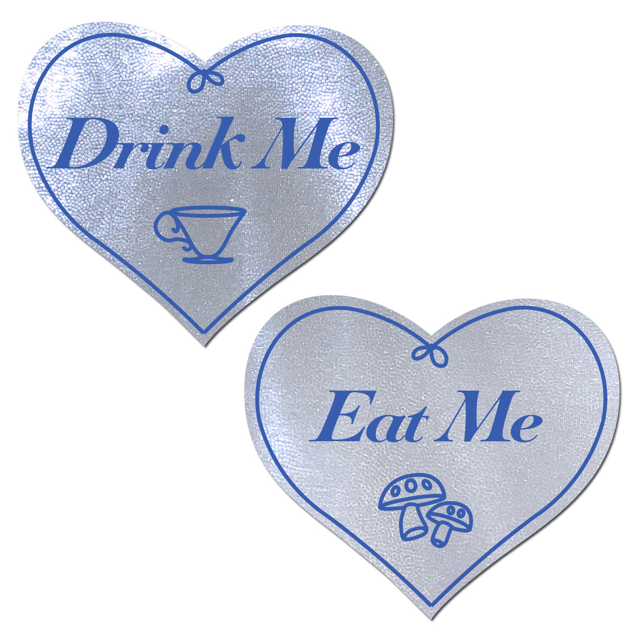 Eat Me Drink Me on Liquid White Heart