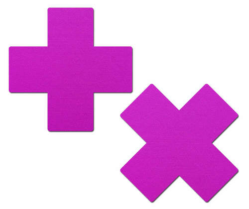 Plus X: Neon Purple Cross