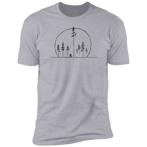 Cycle Across The Sky Tshirt - Singletrack Apparel