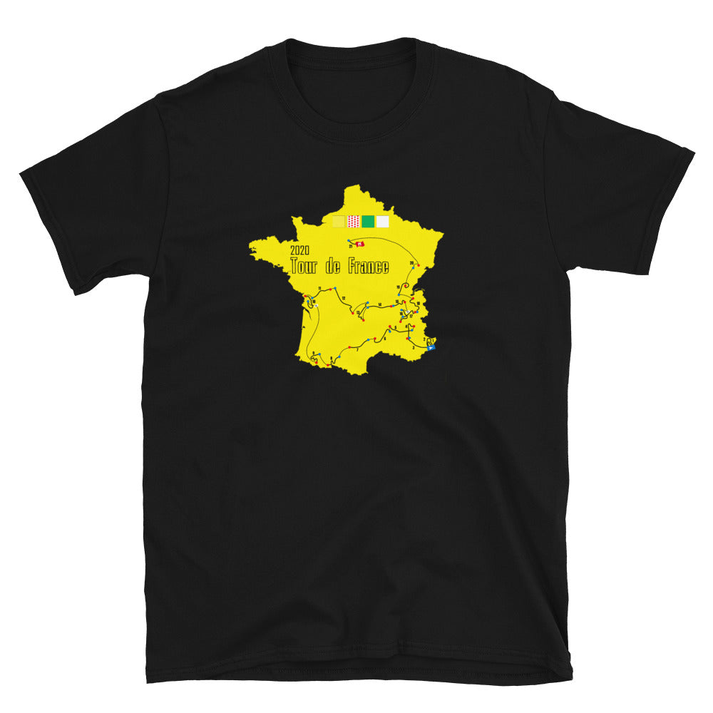 Tour de France 2020 TShirt - Gift for Cyclist - Singletrack Apparel