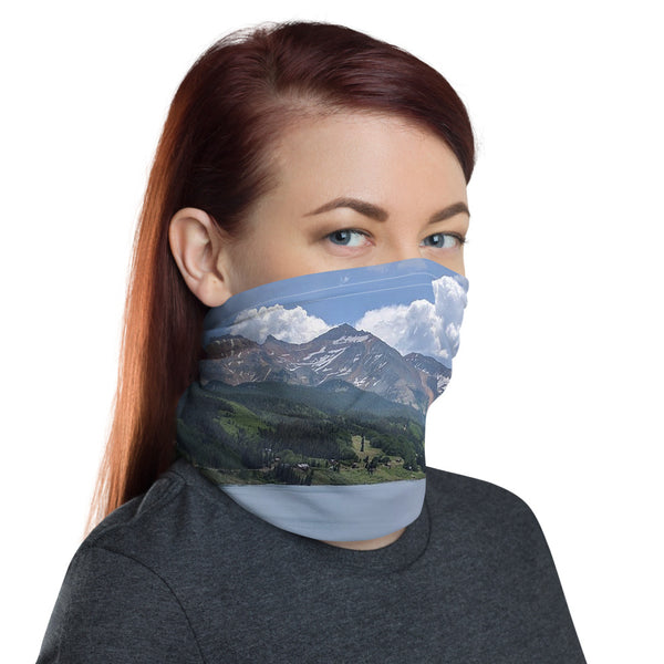Mountain Neck Gaiter, Face Mask/Face Shield, Headband - Singletrack Apparel