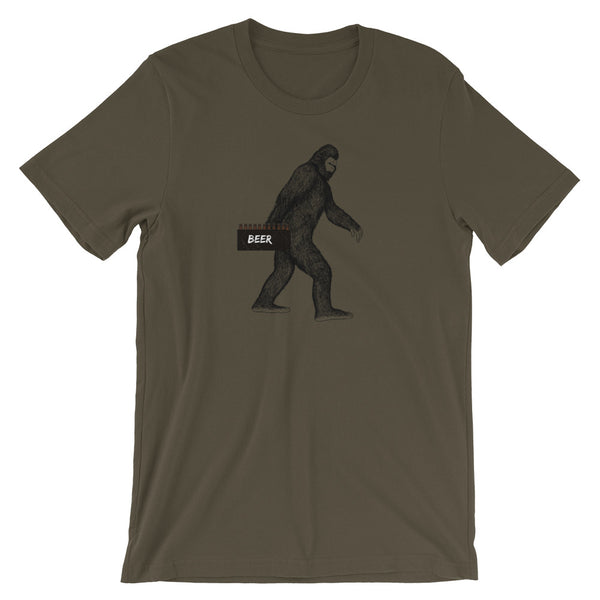 Bigfoot Beer Tshirt - Bigfoot Shirt - Bigfoot Drinks Craft Beer - Singletrack Apparel