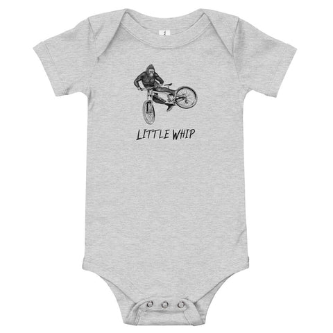 Little Whip BMX Baby Bodysuit - Singletrack Apparel