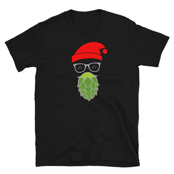 Hoppy Christmas Tshirt - Gift for Beer Lover - Christmas Gift for Beer Lover - Singletrack Apparel