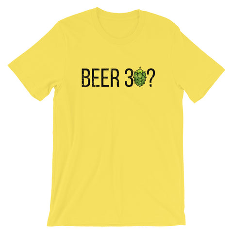 Beer 30? T-Shirt - Singletrack Apparel