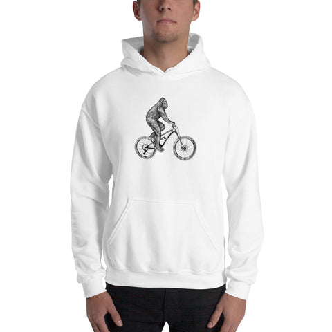 Bigfoot Rides Mountain Bikes Hoodie - Singletrack Apparel