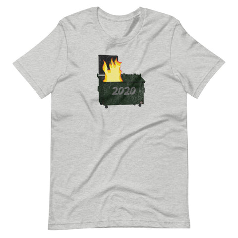 2020 Dumpster Fire Tshirt - Singletrack Apparel