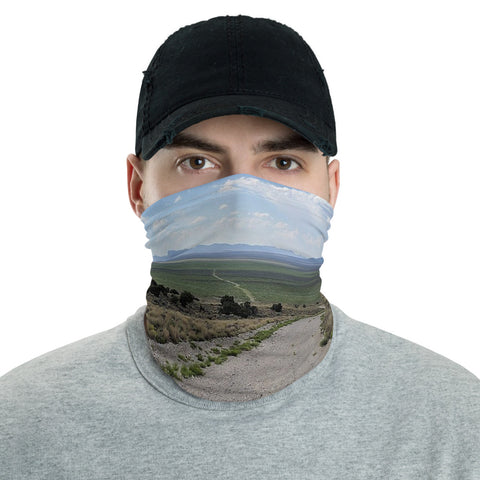 Long Road Neck Gaiter, Face Mask/Face Shield, Headband - Singletrack Apparel