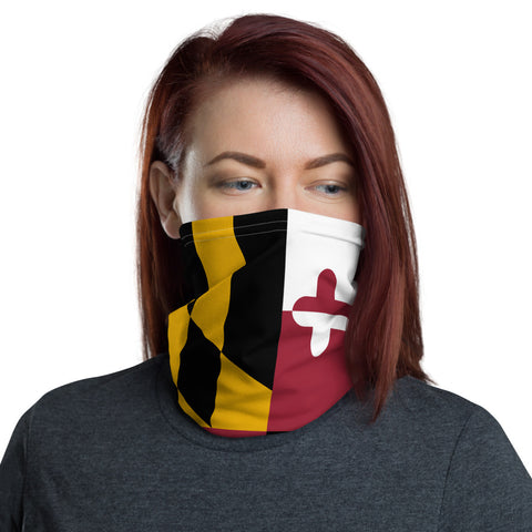 Maryland Neck Gaiter, Face Mask/Face Shield, Headband - Singletrack Apparel