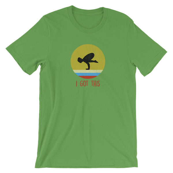 Yoga Crow Pose TShirt - Gift for Yoga Lovers - Yoga Apparel - Singletrack Apparel