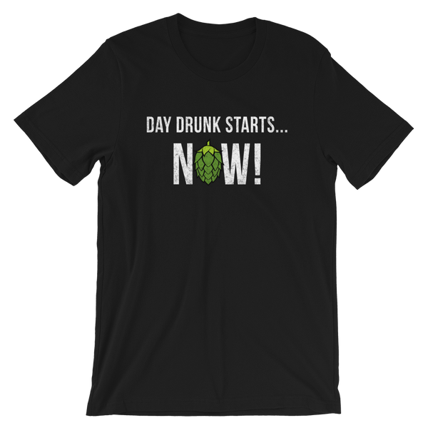 Day Drunk Beer T-Shirt - Singletrack Apparel