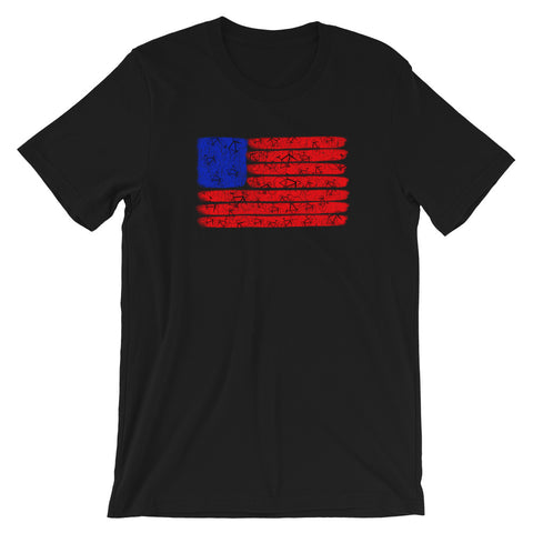 Cycle Flag T-Shirt - Singletrack Apparel