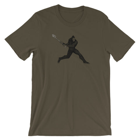 Bigfoot Lacrosse Tshirt - Singletrack Apparel