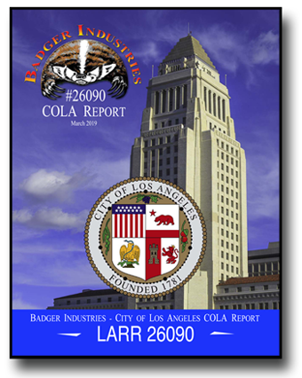 COLA Report City of Los Angeles