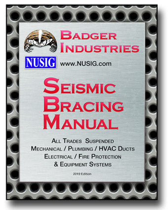 Badger Seismic Mechanical Plumbing HVAC Electrical Fire Protection systems