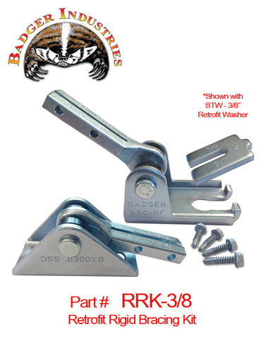 Badger RRK-3/8 Retrofit Rigid Bracing Kit