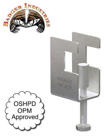 Badger SBC158-C Steel Beam Clamp